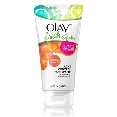 Olay Cleanser olay fresh effects acne wash