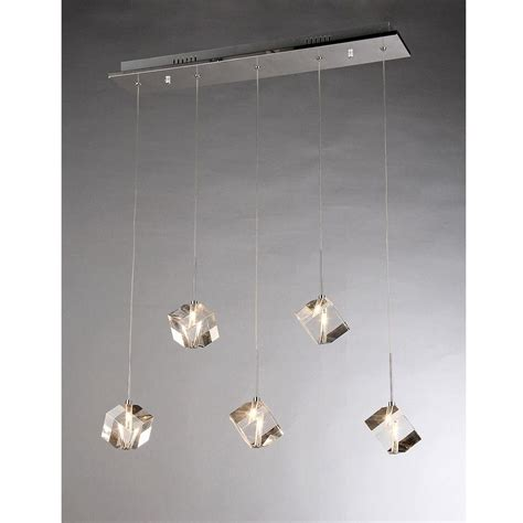warehouse of tiffany firefly dangling crystal 5 light