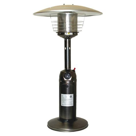 Shop Fire Sense 10000 Btu Bronze Steel Liquid Propane Lowes Patio Heater