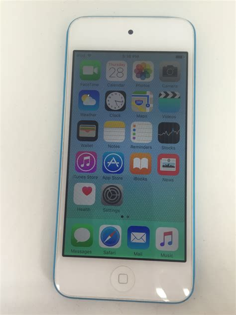 ipod blue apple ipod touch 5th generation 32gb blue ipods mp3 players