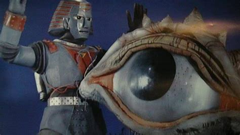 film robot vs monster paying tribute to johnny sokko and his flying robot tested