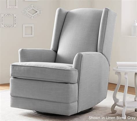 contemporary glider recliner modern wingback glider recliner pottery barn kids