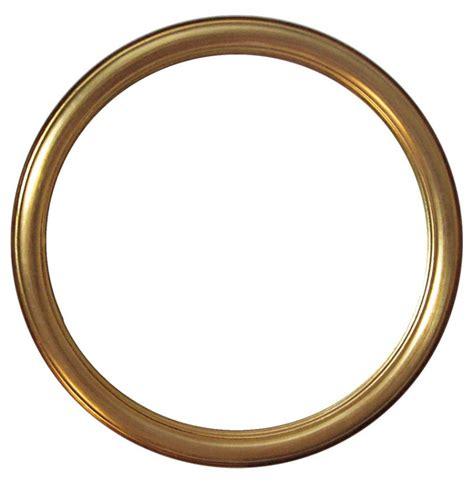 cornice rotonda cornice rotonda oro da 10 cm