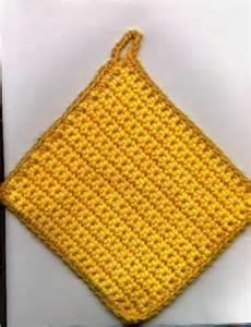 Free crochet pot holder pattern www crochet4you com
