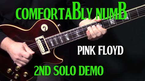 how to play pink floyd comfortably numb performance how to play quot comfortably numb quot second guitar