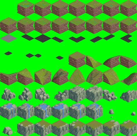 What Are The Best Type Of Sheets modified isometric 64x64 outside tileset opengameart org