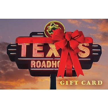 Texas Roadhouse Gift Card Balance - texas roadhouse order online