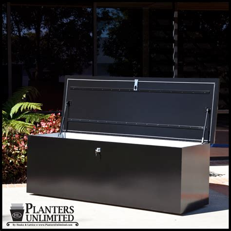plastic boat dock boxes deck and dock boxes for dry outdoor storage planters