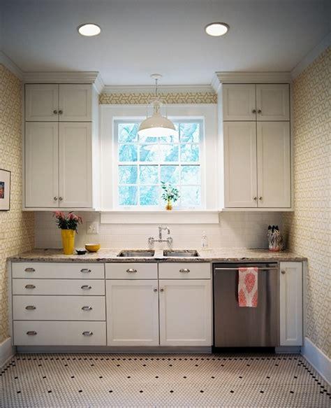 Tile Cabinets Or Around by Vintage Hex Kitchen Floor Kitchen Angie