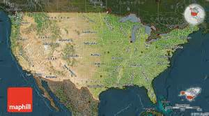 satellite map of united states darken
