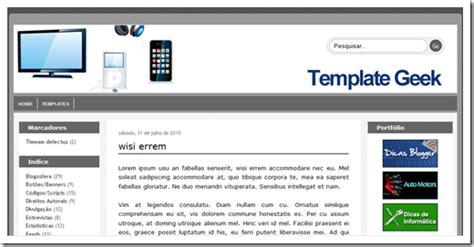 template personalizado consultoria de conte do por um pre o template geek dicas blogger