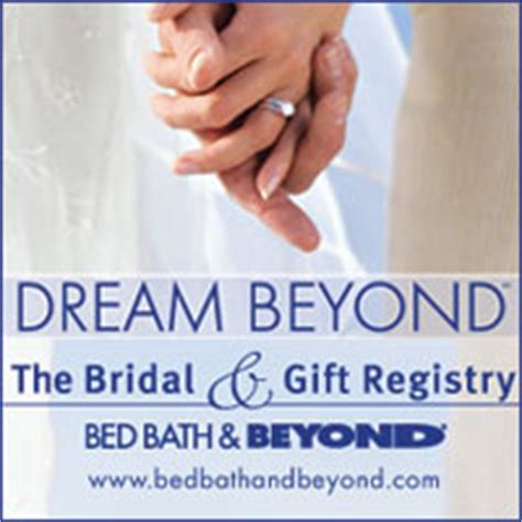 bed and bath wedding registry our wedding