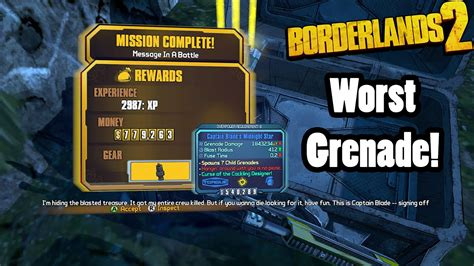 the midnight star the borderlands 2 the midnight star the worst grenade in the game youtube