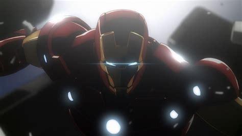 iron man screen cartoon star avengers