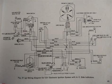 wiring diagrams  indian  wheelers team bhp