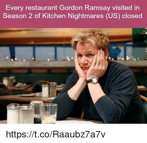 gordon ramsay to end kitchen nightmares series in u s every restaurant gordon ramsay visited in season 2 of