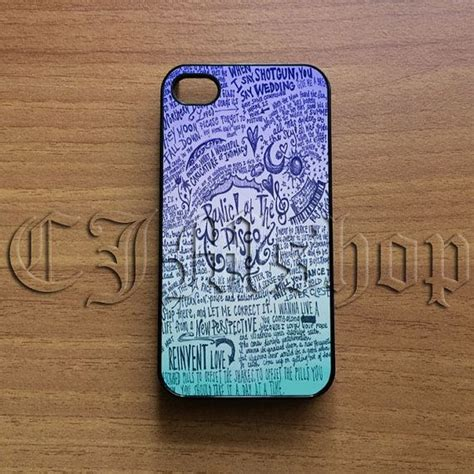Casing Iphone 7 Panic At The Disco Lyric Cover Custom design panic at the disco lyric quotes for iphone 4 4s 5 5s 5c s