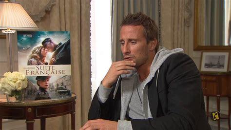 matthias schoenaerts interview french allocin 233 interviews matthias schoenaerts and saul dibb