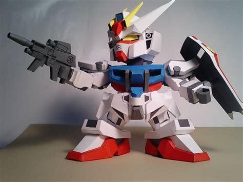 Gundam Papercraft Pdf - gundam gat x105 strike sd po archives