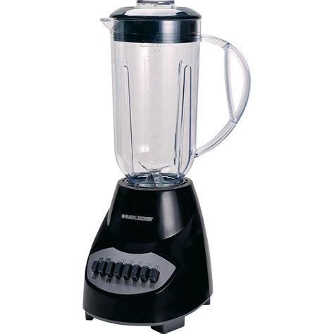 Blender Juicer 7 In 1 black decker 10 speed blender bl2010bp the home depot