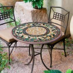 Iron mosaic bistro set 30 set for 2 3 gif