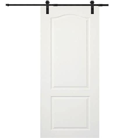 32 X 80 Barn Door by Mmi Door 32 In X 80 In Primed Princeton Smooth Surface