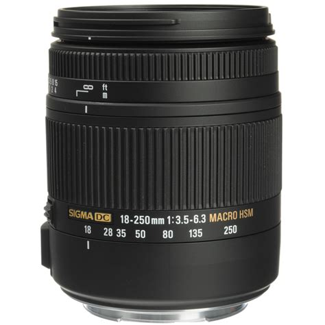 Sigma Canon sigma 18 250mm f3 5 6 3 dc macro os hsm for canon ef 883 101 b h