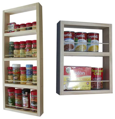 on the wall spice rack davis on the wall dual depth spice rack set of 2 28 quot and 14 quot contemporary spice jars and
