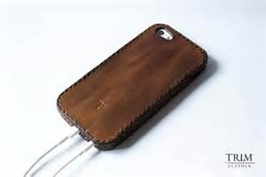 Handmade Iphone 5 - the handmade leather bumper iphone 5 gadgetsin