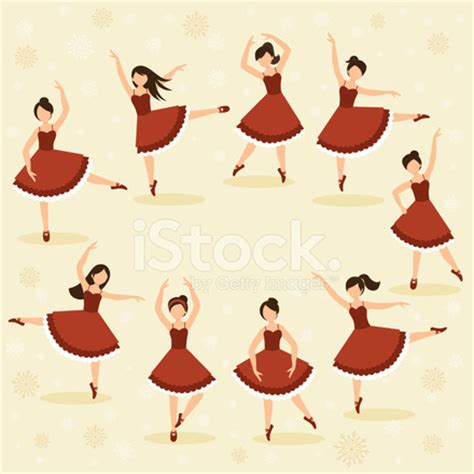 nine ladies dancing stock vector freeimages.com