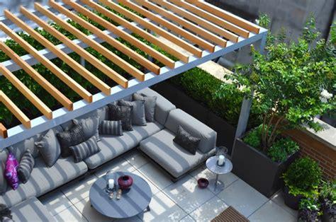 Concrete Backyard Jeffrey Erb Landscape Design And Garden Design Nyc 10036