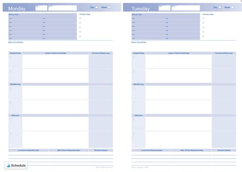 weekly planner template for teachers where can i get a planner top notch teaching