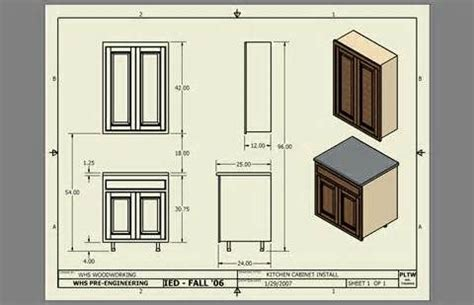 Standard Kitchen Base Cabinet Dimensions by Standard Kitchen Cabinet Dimensions Drawing At Home