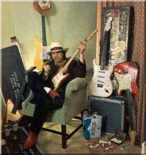 stevie ray vaughan  guitar world