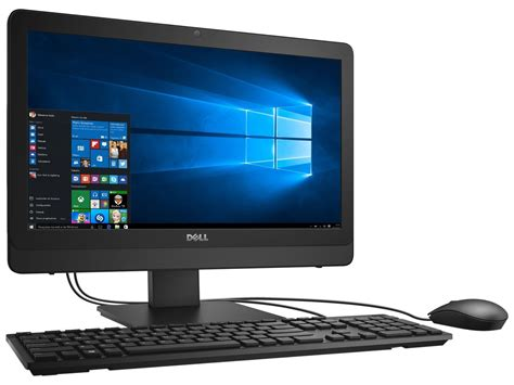 Dell Inspiron 3064 Intel I3 7100u Windows 10 all in one dell inspiron 3064 i3 7100u 2 4ghz 4gb 1tb dvd
