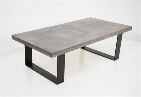 concrete outdoor table some ideas concrete coffee table the decoras jchansdesigns