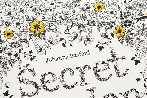 secret garden inky coloring book secret garden an inky treasure hunt and coloring book