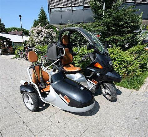 bmw  sidecar mobili futuristici