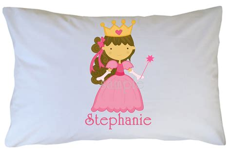 princess pillow personalized pillowcase