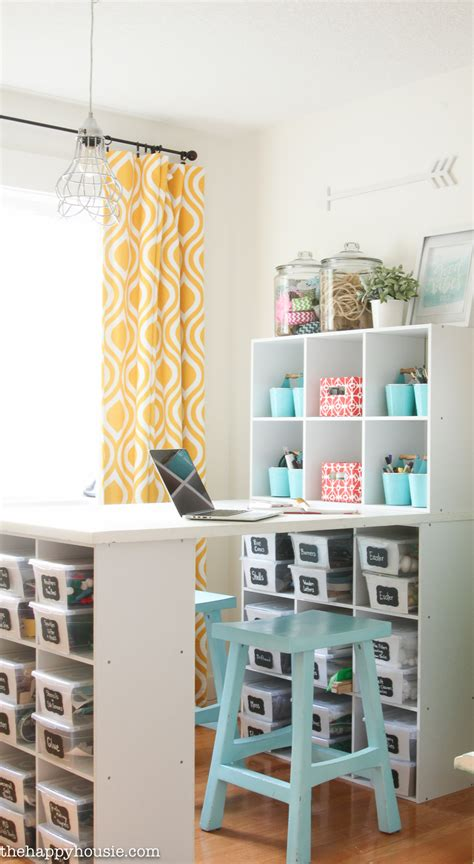 organize a room how to organize a craft room work space the happy housie