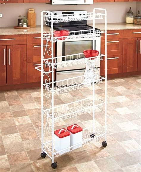 pantry rack cosmecol rolling kitchen pantry rack cosmecol