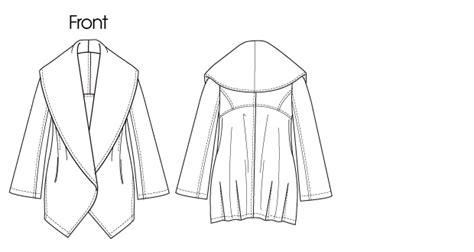 Double Blind Book Vogue Patterns 1263 Misses Jacket