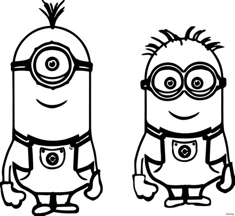 despicable me printable coloring pages download despicable me 2 minions coloring page minion color pages
