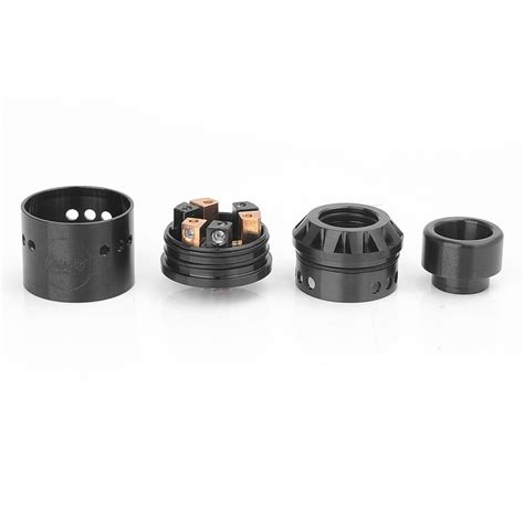 Azeroth Rdta By Coil Ss Black Authentic authentic coilart azeroth rda black 24mm rebuildable atomizer