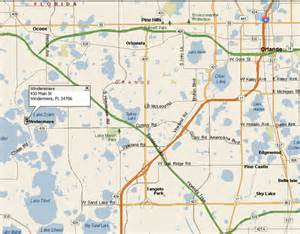 map of windermere florida directions at windermere gallery frame shop