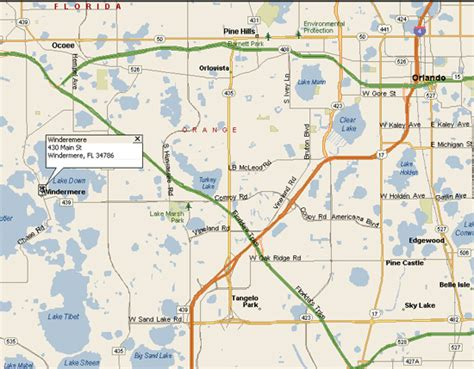 where is windermere florida on a map directions at windermere gallery frame shop