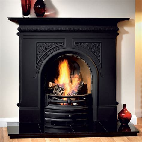 cast iron fireplace gallery pembroke cast iron fireplace fireplaces are us