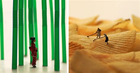 Everyday For 5 Years This Japanese Artist Creates A Fun Miniature Diorama
