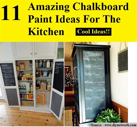 chalkboard paint kitchen ideas 11 amazing chalkboard paint ideas for the kitchen home and life tips