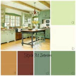 Country Yellow Kitchens - the best rustic farmhouse paint colours benjamin moore